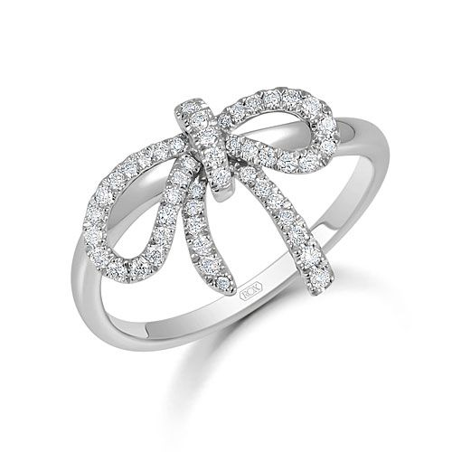 in rings pinterest accent silver pin diamond bow sterling ring jewelery