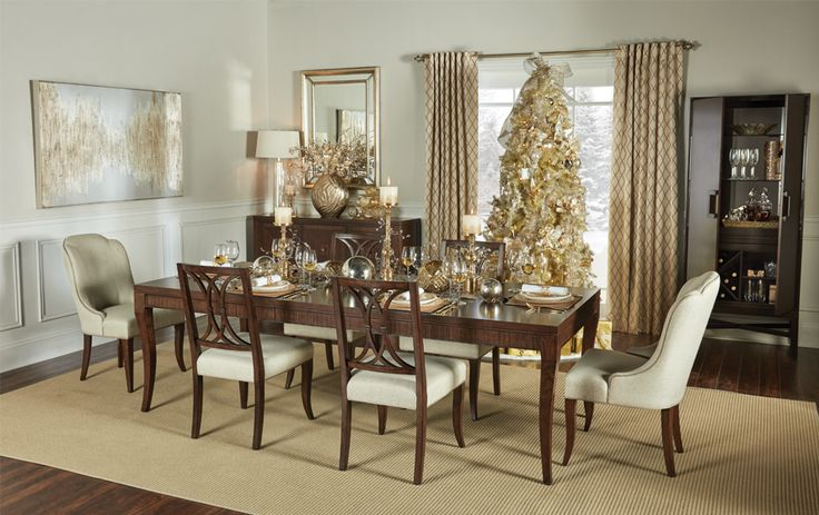 Marquis Dining Room | Christmas Dining Room Decor
