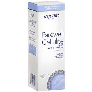 Equate Farewell Cellulite Cream, 6.7 oz $5.08 at Walmart.com . I've only been using this for a week and I can already tell a significant difference. Its backed by Walmarts brand guarantee, if you're not satisfied, return it for a full refund.