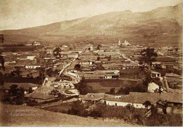SAN JUAN DE PASTO EN 1898