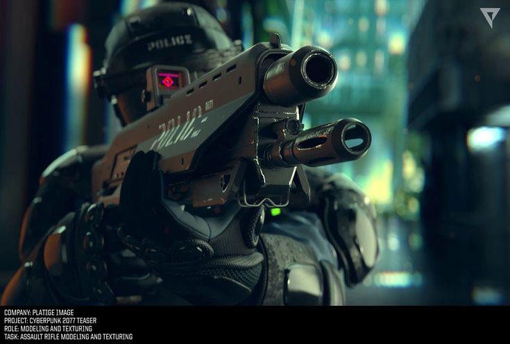 ArtStation - Cyberpunk 2077 Teaser Trailer, Marcin Wiech