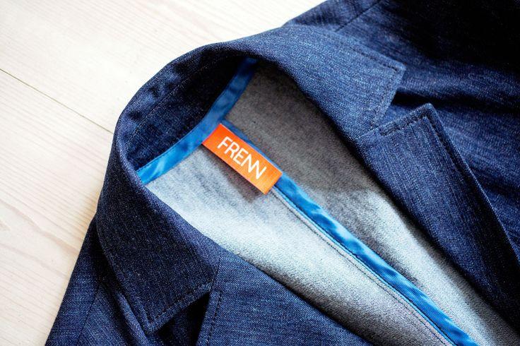 Kosti #denim #blazer by #FRENN