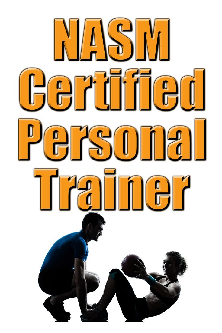 The NASM-CPT certification program is designed for individuals who wish to become personal trainers. If you want to become a personal trainer, be sure to take advantage of the free information provided here to get you prepared for the NASM exam. #NASM #personaltrainer