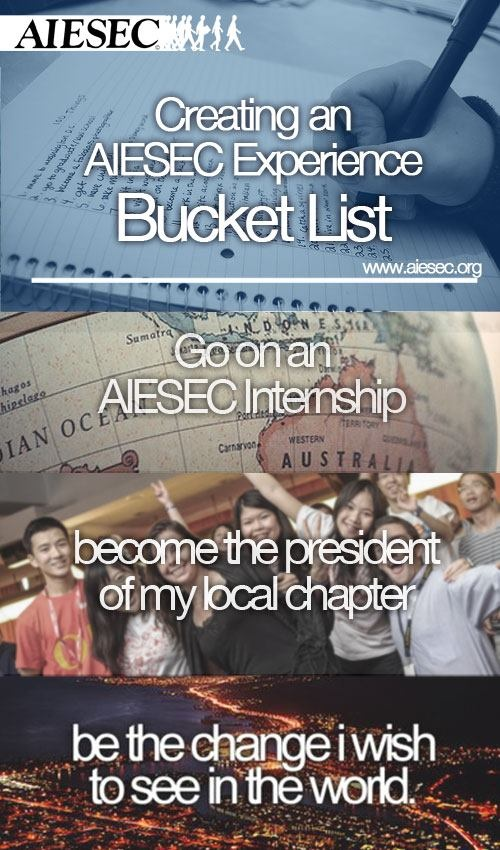 Opportunities of AIESEC