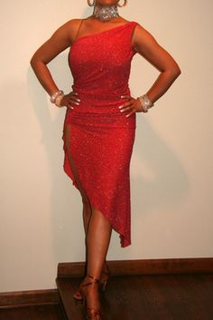 Dark Coral Latin Dress For Sale, Dance Costumes For Sale, Dance Gowns for sale