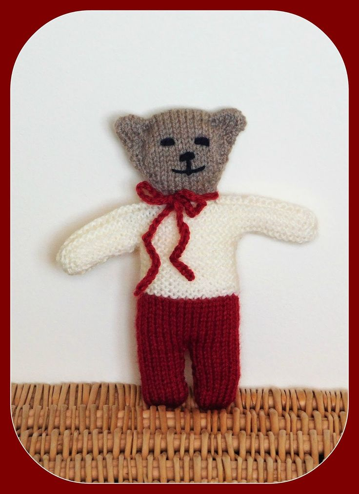 Please meet Wilfred ......     Wilfred                          Wilfred - Teddy Bear          The Front           Begin with the Trous...