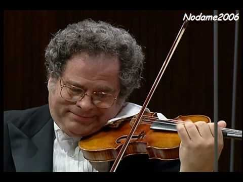Itzhak Perlman plays and conducts the strings of the Israel Philharmonic Orchestra in Vivaldi's Spring from The Four Seasons.