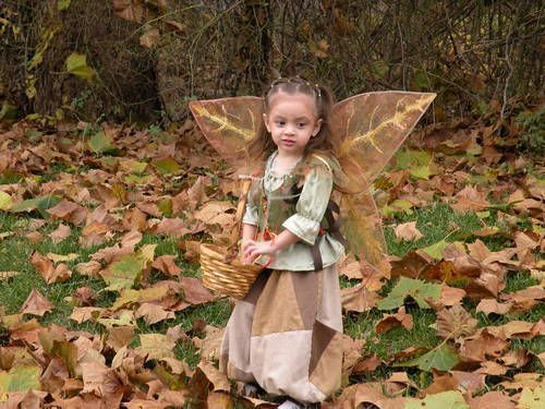 Woodland Fairy costume - CLOTHING. Cool leaf-life wings