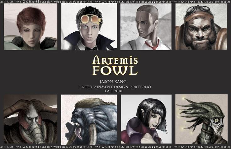 Artemis Fowl Book 1