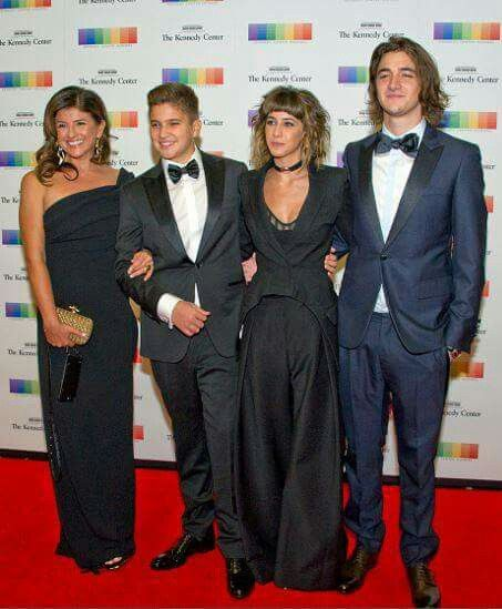 The Freys at The Kennedy Center Honors artist dinner in DC 2016