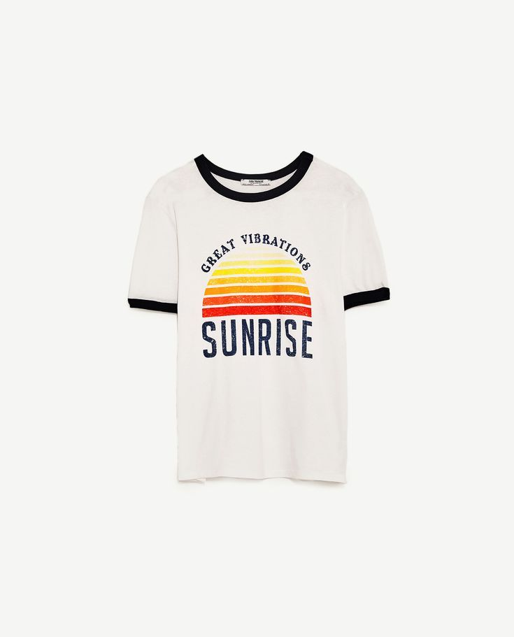 9e2e22d1 VINTAGE GRAPHIC T-SHIRT | great vibrations sunrise ringer tee ...