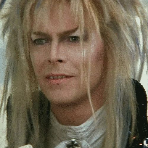 "When your vacation request goes through. | 25 Perfect GIF Reactions From Jareth From ""Labyrinth"""