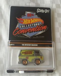 Hot Wheels Convention Exclusive 1 of 2400 pcs Zamac Raw Scooby Doo sept 1-5 2014 1:64 real Riders in protecto - Collectables Corner