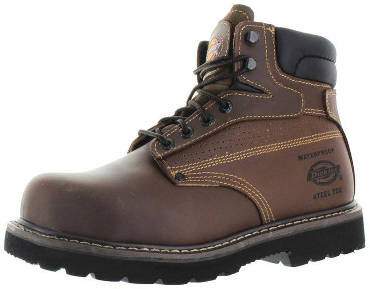 Dickies Breaker Men's Steel Toe Work Boots E Wide Width