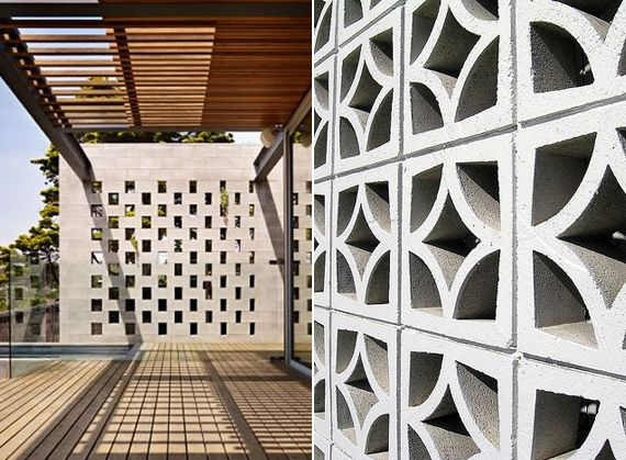 98 Best Concrete Breezeway Block Images On Pinterest