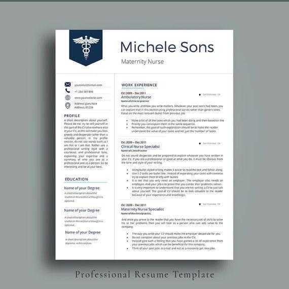 professional nurse resume template elegant nurse resume for medical professionals impressive neat and - Professional Rn Resume