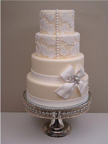 Elegant Wedding Cake - My wedding ideas