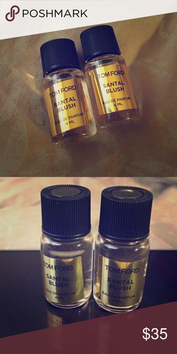 Tom Ford Santal Blush perfume tester bottles Test the Fragrance before buying the full bottle 🌸😊🌸 comes as 2, 4mL tester bottles. Tom Ford Other