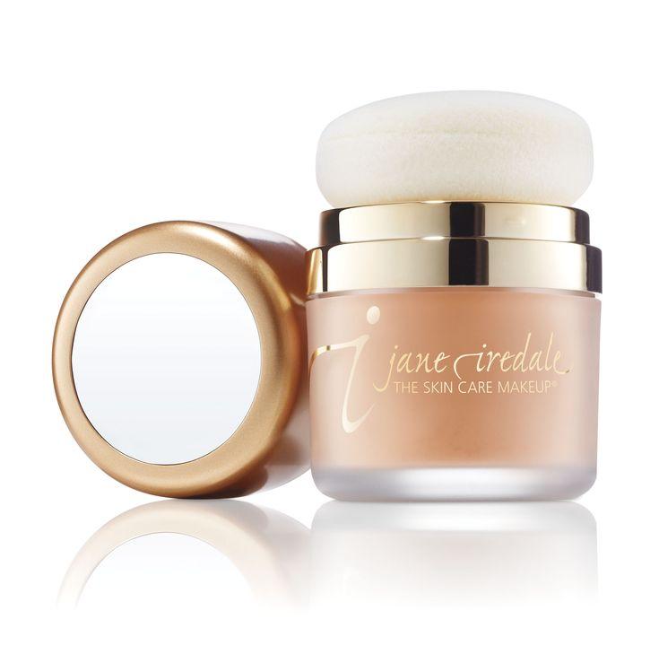jane iredale Mineral Make-up - trockener Sonnenschutz mit Lichtschutzfaktor SPF 30! Auch ideal für unterwegs!