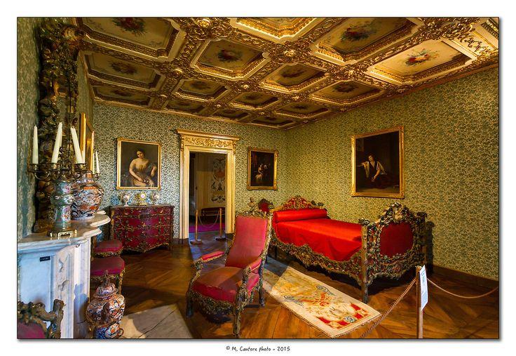 Piemonte, La Mandria - Appartamenti Reali - Camera da letto di sua maestà