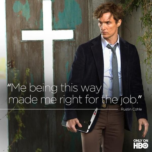 """Matthew McConaughey's """"True Detective"""" Character Is a *Little* Intense - Meet Detective Rust Cohle. He's not exactly a """"fun"""" guy."""