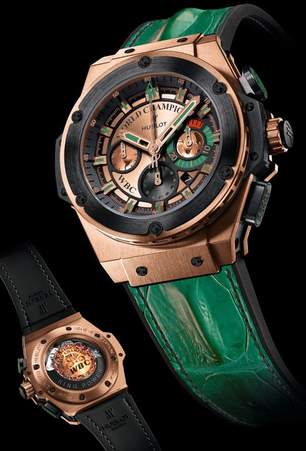 Hublot King Power Knockout World Boxing Council Watch