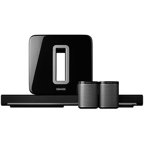 Sonos 5.1 Home Theater System Package - largeImage