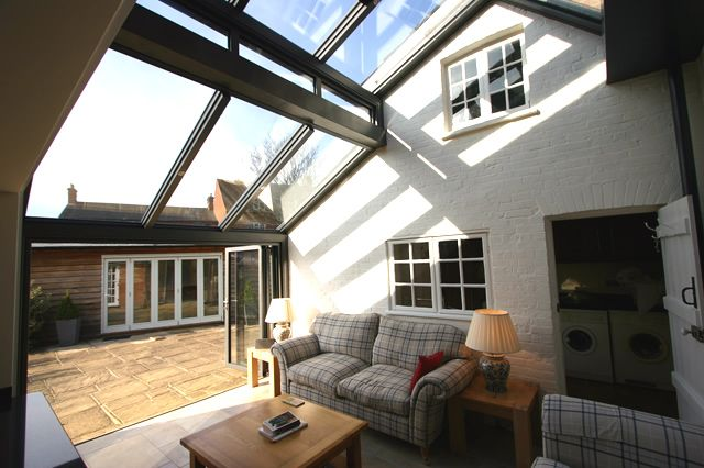 We created a luxurious 2-storey contemporary Solarlux Wintergarden for our client in Hartley Wintney. Click here to read more about the project
