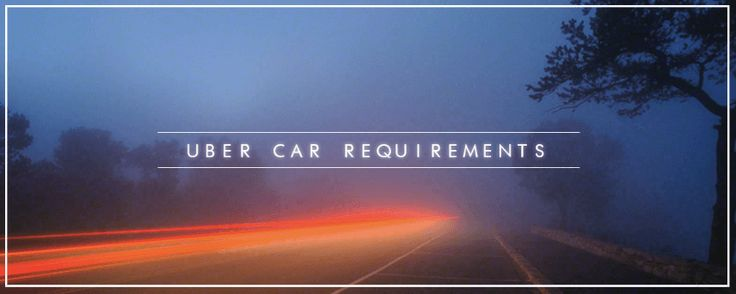 Uber Car Requirements