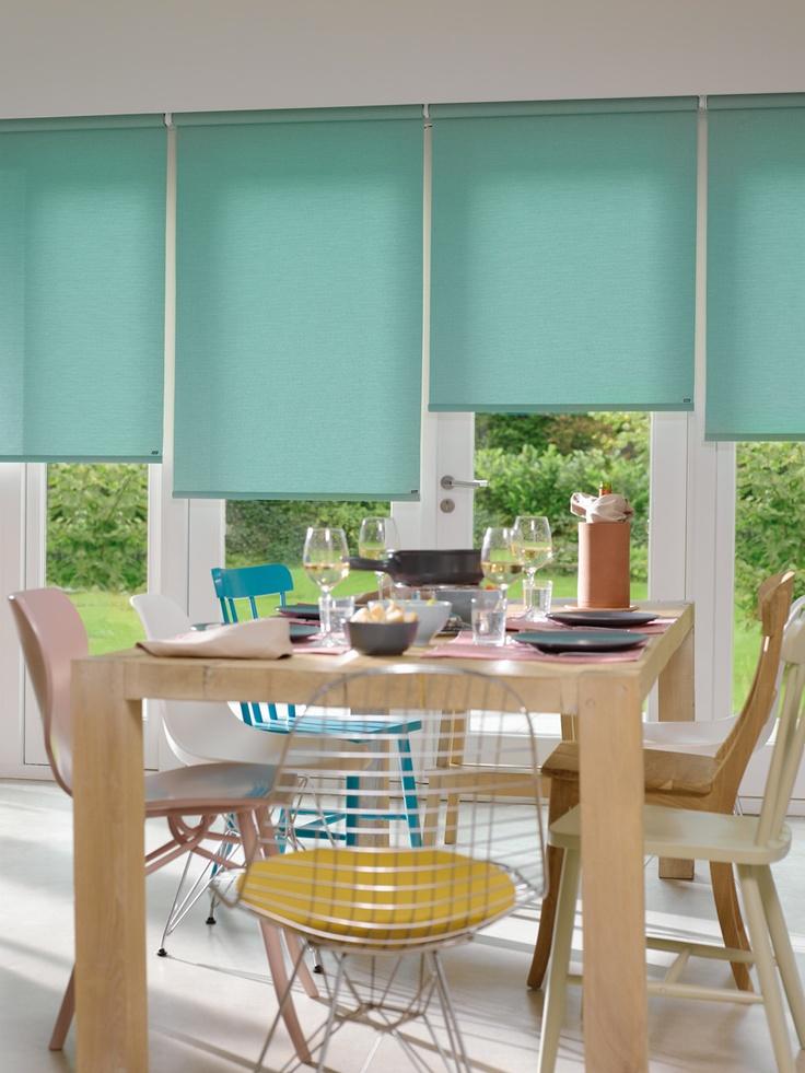 Roller Luxaflex® HunterDouglas.  #color #mint #soñado