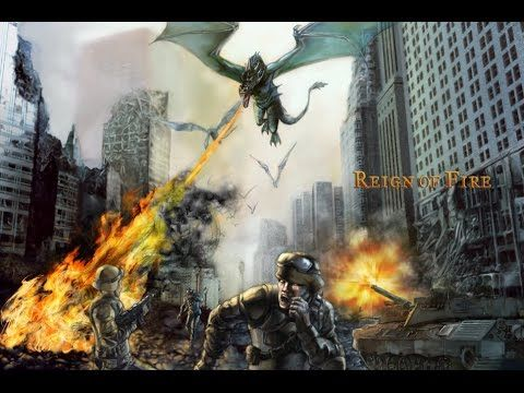 Reinado de fuego *Reign of fire  with famous actor Matthew MacConaughey