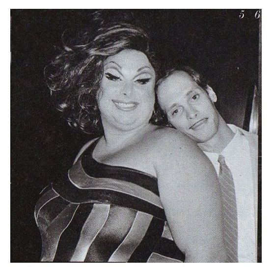 Two perfectly amazing people. I thought all Americans were like John Waters & Divine! divine & john waters love this @Rachael E King
