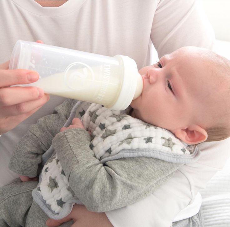 Enjoying some milk!