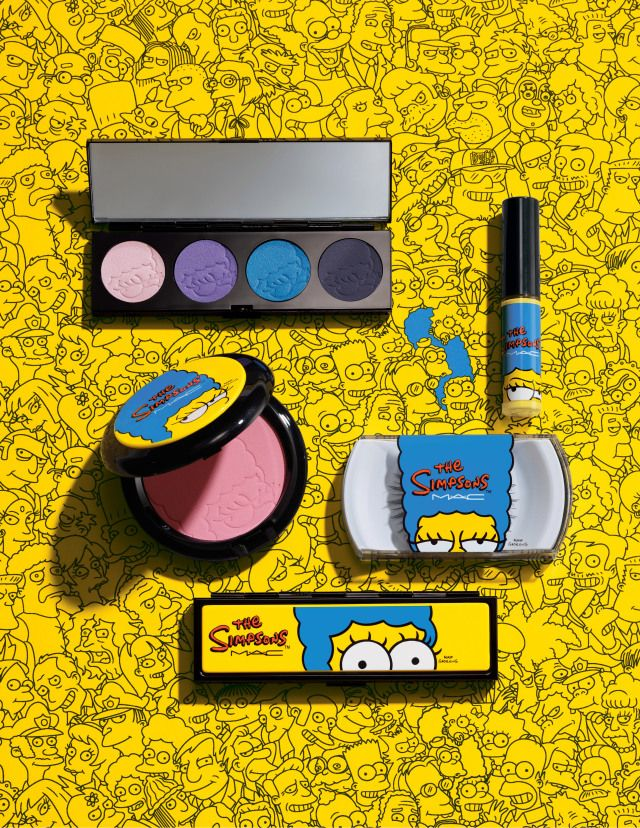 "See the Entire MAC Cosmetics ""The Simpsons"" Collection Before It's Available"