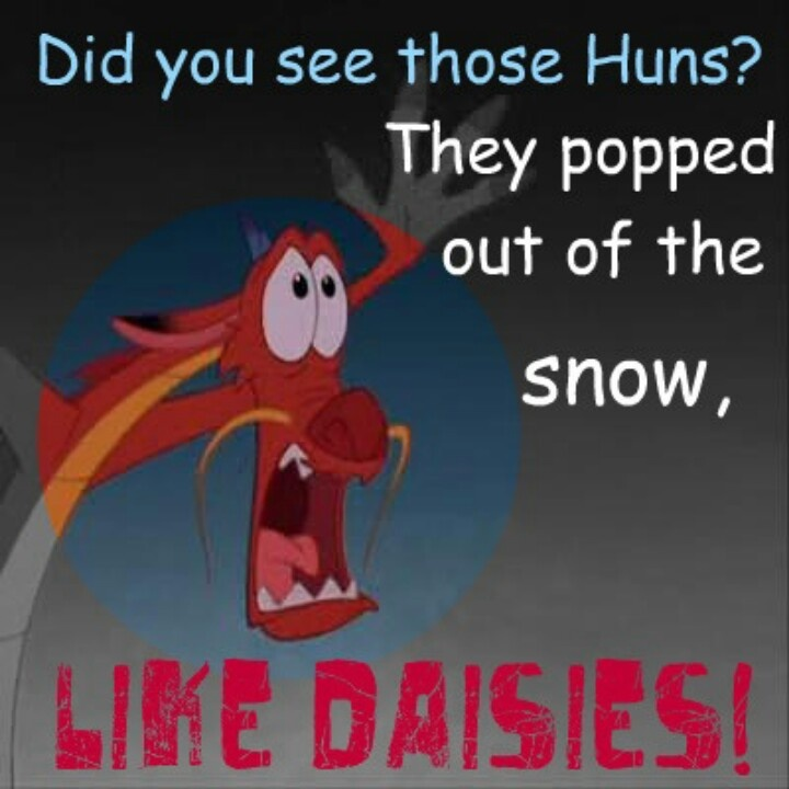 Funny Sayings And Quotes From Movies: Mushu! The Best Little Dragon EVER!