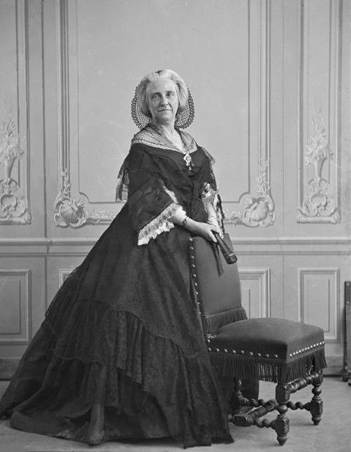 Marie d'Agoult (1805-1876) par Nadar, restaurée par mes soins.