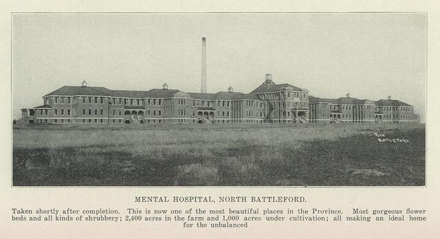Mental Hospital North Battleford by Altered Dimensions, via Flickr