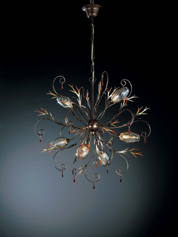 Ekskluzywne włoskie lampy wiszące Goccia -