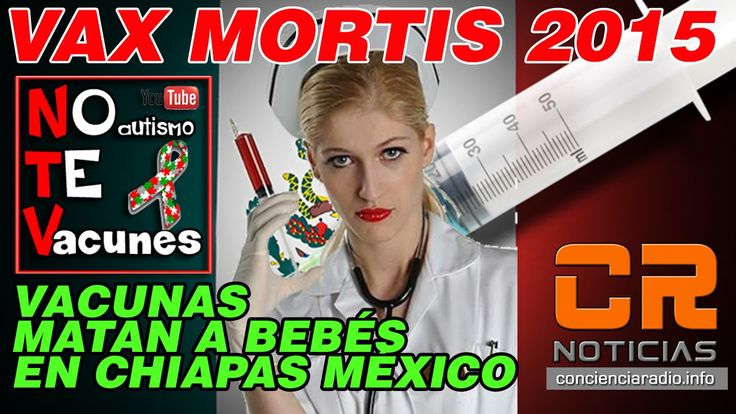 @EPN @ARISTOTELESSD #VACUNAS MATAN A BEBES EN #CHIAPAS #INFOESPECIAL https://youtu.be/xE6roo_sVIY cc @CONCIENCIARADIO #RadioResistenCIA #REZINEWS  Videoreportaje Especial de CR NOTICIAS con el periodista mexicano Alexander Backman sobre la muerte de bebés en Chiapas México y hospitlazación de decenas más tras la vacunación contra el Virus de hepatitis B, Rotaviruus y Tuberculosis y cómo este evento se puede ligar a un acto criminal de lesa humanidad y de genocidio por medio de agentes…