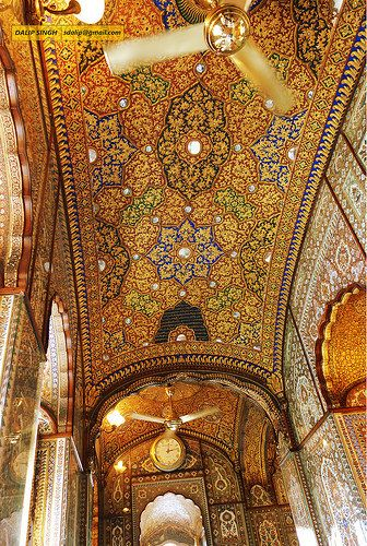 Golden Temple interior    :::: pinterest.com christiancross ::::