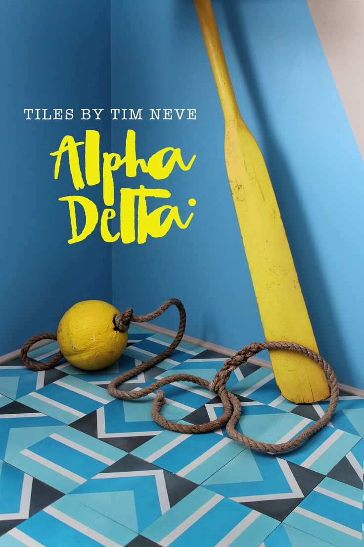 'Alpha Delta' Mix - Introducing the full debut range of tile designs by Stylist Tim Neve. Shop the range at store.timneve.com