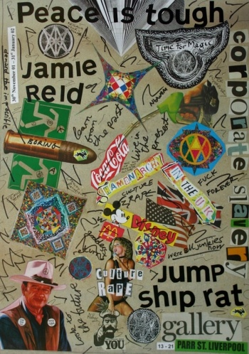 JAMIE REID http://www.widewalls.ch/artist/jamie-reid/ #collage #contemporary #art