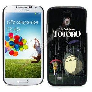 Carcasa divertida diseño totoro para Galaxy S4
