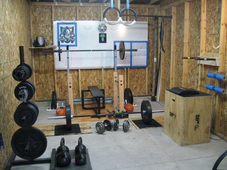 Garage gym this will be a prominent feature in my future