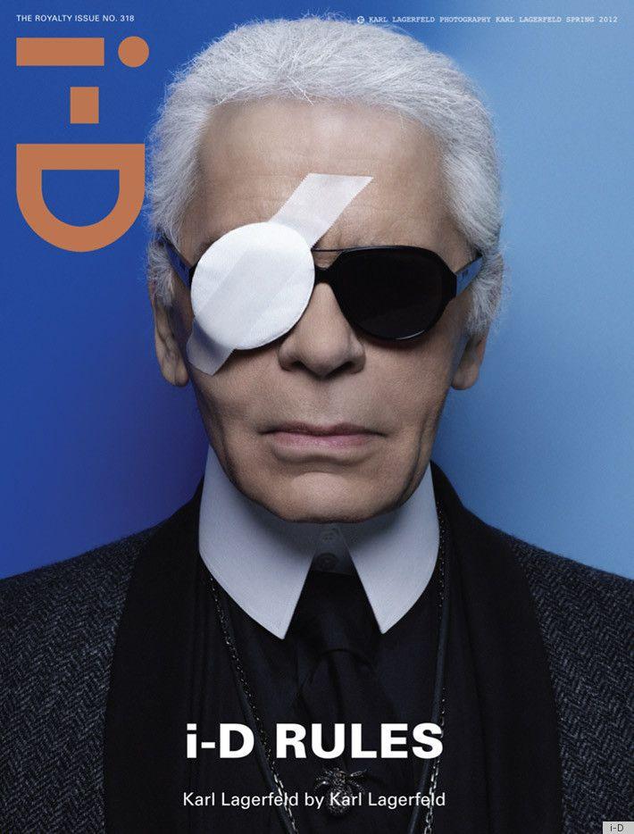 i-D.  Karl Lagerfeld