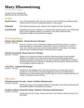 free resume templates ats free resume templates pinterest
