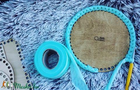 Kör 15 cm-es horgolható fa alap - Wood Stitch Collection, Fa, Rétegelt lemez, fa alap, Saját ötlet és fejlesztés alapján gyártott horgolható fa alap.    Festhető, lazúrozható, pá..., Alkotók boltja