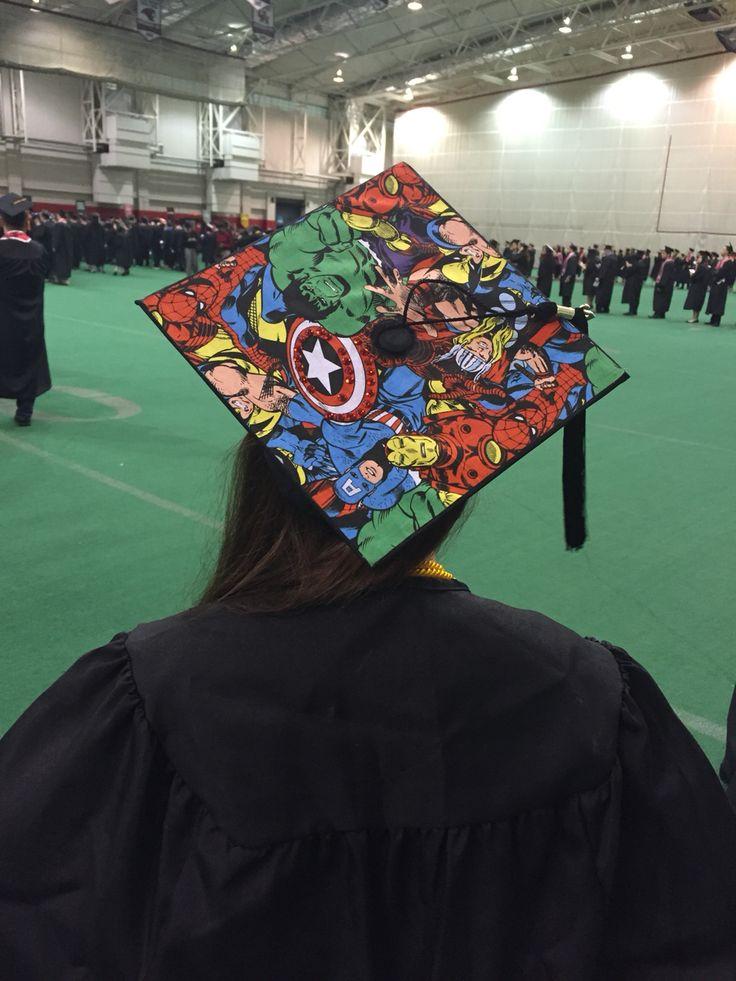 Be Marvelous Graduation Cap Arts Amp Crafts Pinterest