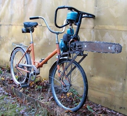 Halfdan Reschat - Google+ - Motorized Bicycle Runs great. 60 MPG. Cuts through traffic…