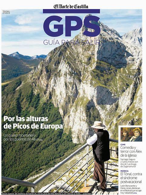 Reportaje de Javier Prieto Gallego sobre los puertos de Áliva publicado en EL NORTE DE CASTILLA. www.siempredepaso.es